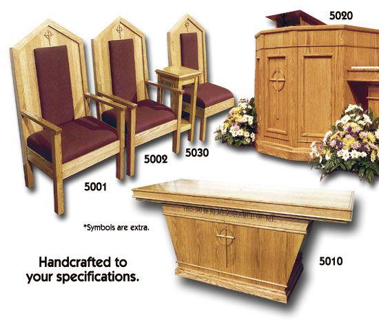 Church Furnishings Unlimited Inc Chancel Pulpit Furniture